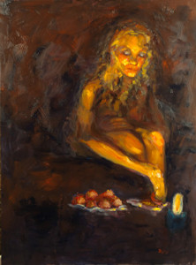 Becca Drach Painting - Connekt Expo Rome 2014