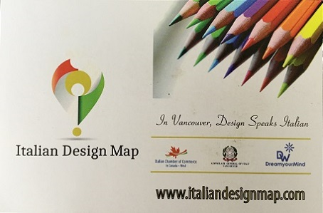 Italian General Consulate, Italian Chamber of Commerce in Canada West & DreamyourMind - Invite to launch Italian Design Map