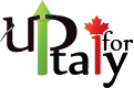 Up for Italy - Logo