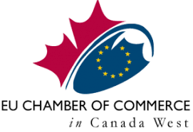 EU Chamber of Commerce in Canada West - Logo
