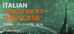 Italian Investment Showcase Turin 11-12 April 2018
