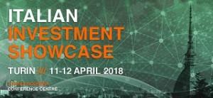 Italian Investment Showcase Turin 11-12 April 2018