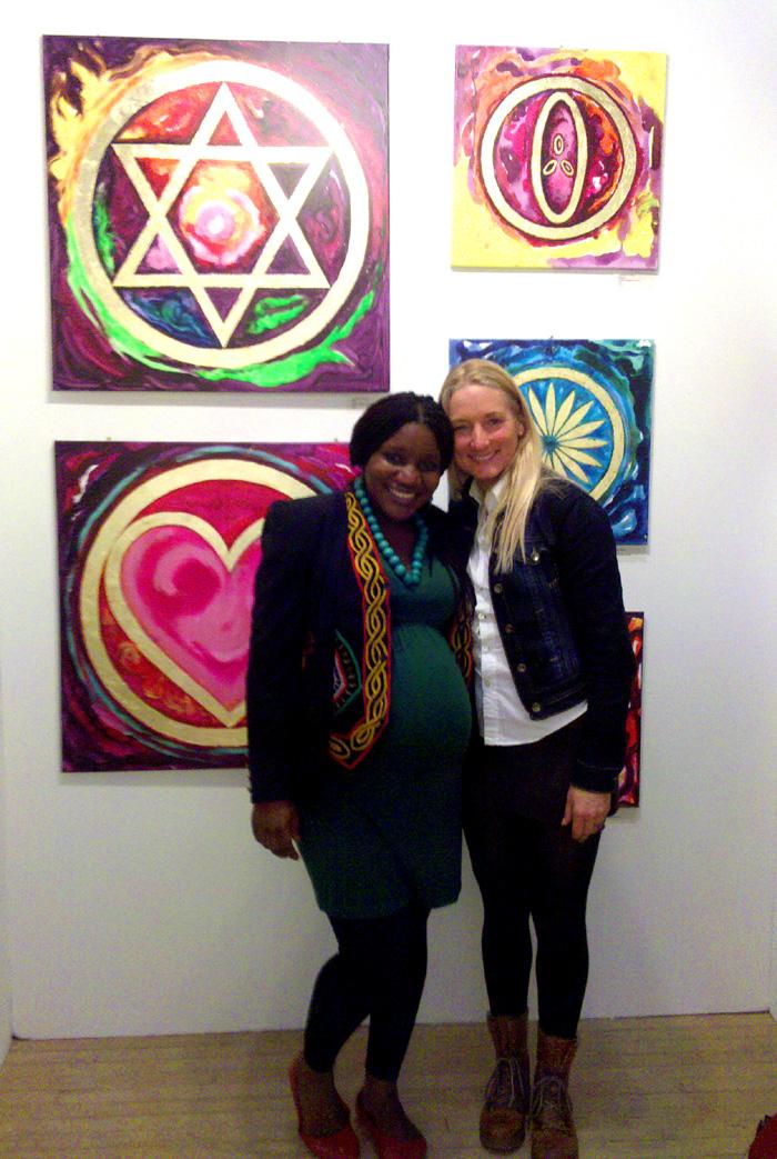 Connekt Artist Anastasia Hansen & Artist Shiri Achu- London 2012