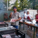 Cuoco grigliata evento Ma Noi, Insieme, per Joe